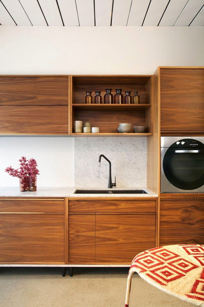 Fancy  natural solid wood kitchen cabinets set interior