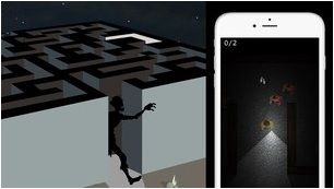 Zombie Run - scary maze game for iPhone