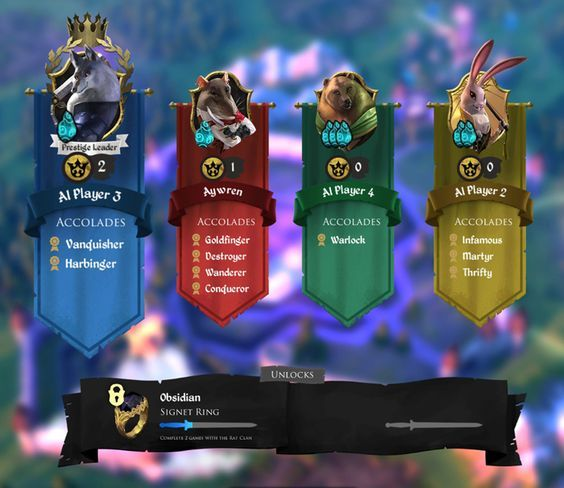 armello user interface - Google Search: