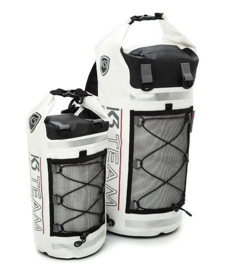 White Team K3 Protech Waterproof Dry Bag | zulily