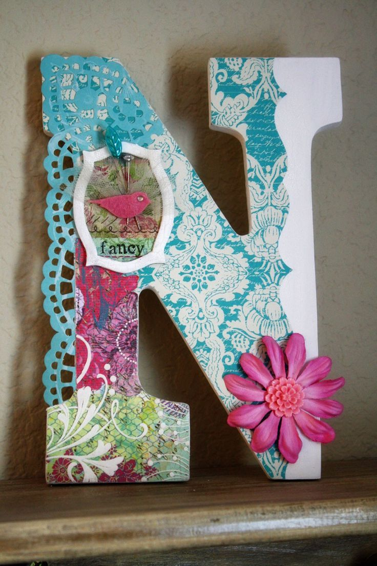 Wooden letters for crafts - Find This Pin And More On Wooden Letters