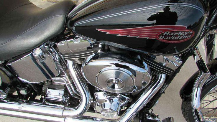 Used 2004 Harley-Davidson FXSTS/FXSTSI Springer Softail Motorcycles For Sale in Wisconsin,WI. 2004 Harley-Davidson FXSTS/FXSTSI Springer Softail, HARD TO FIND! FULL EXHAUST, BACK REST AND LUGGAGE RACK, LINDY BAR, VERY SHARP! - Here's one you know the instant you catch a glimpse of the front end. The Springer Softail. Nothing short of a masterpiece of modern engineering, the leading-link exposed-spring suspension again returns for the 2004 lineup. Once dormant for forty years, the gorgeous…