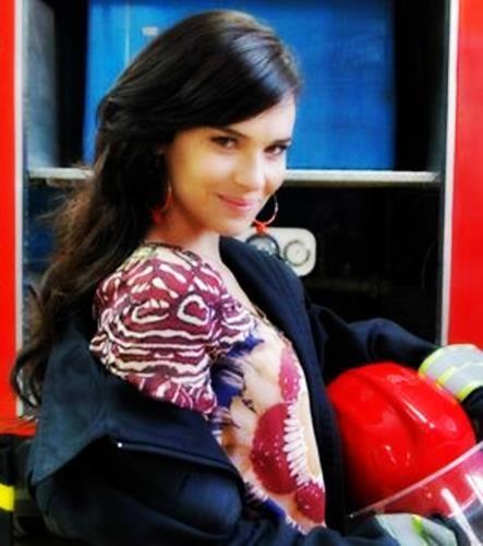 Eva Ochoa - Bombero