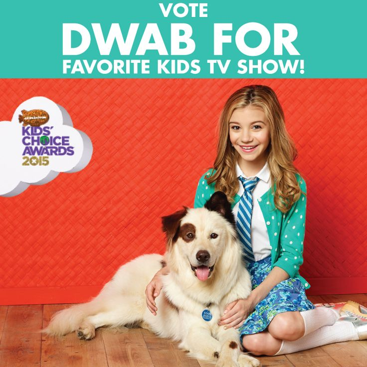 We're in the home stretch. Thanks to all #dwab fans who have been voting. I ruff you heart emoticon Vote here: http://www.nick.com/kids-choice-awards/vote/ Good Dog Animals #MickAkaStan #DogWithABlog #Nickelodeon #Nick #KidsChoiceAwards #Hanneliators #Capaldians #VoteDwab #KCA #KCAs2015