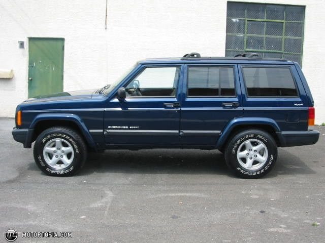 This looks just like my 2000 Cherokee Sport, and mine has 275,000 miles and is still running strong.  :-)