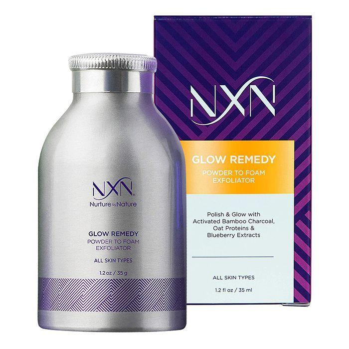Nxn Glow Remedy Powder To Foam Exfoliating Face Wash In 2020 Exfoliating Face Wash Amazon Skincare Lip Exfoliator