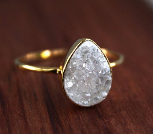 Bohemian Crystal Ring