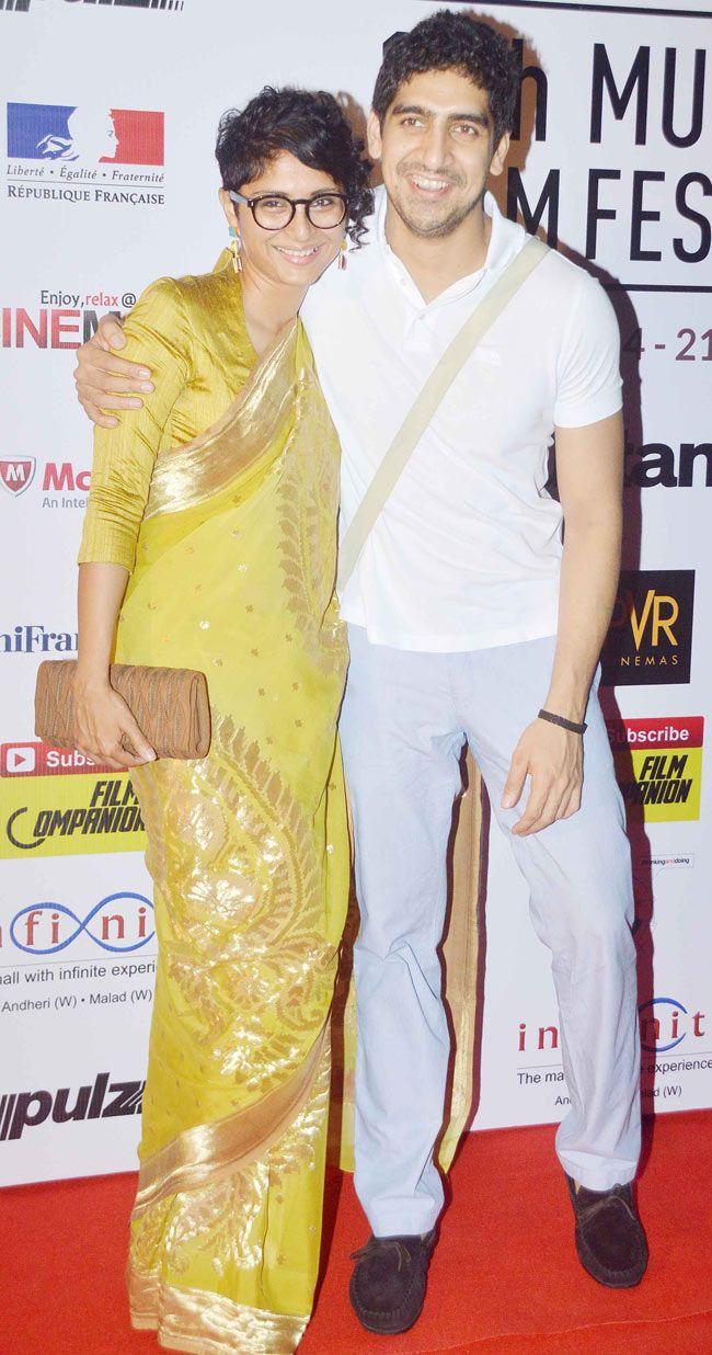 Kiran Rao and Ayan Mukherji at the opening ceremony of the 16th Mumbai Film Festival. #Bollywood #Fashion #Style #Beauty