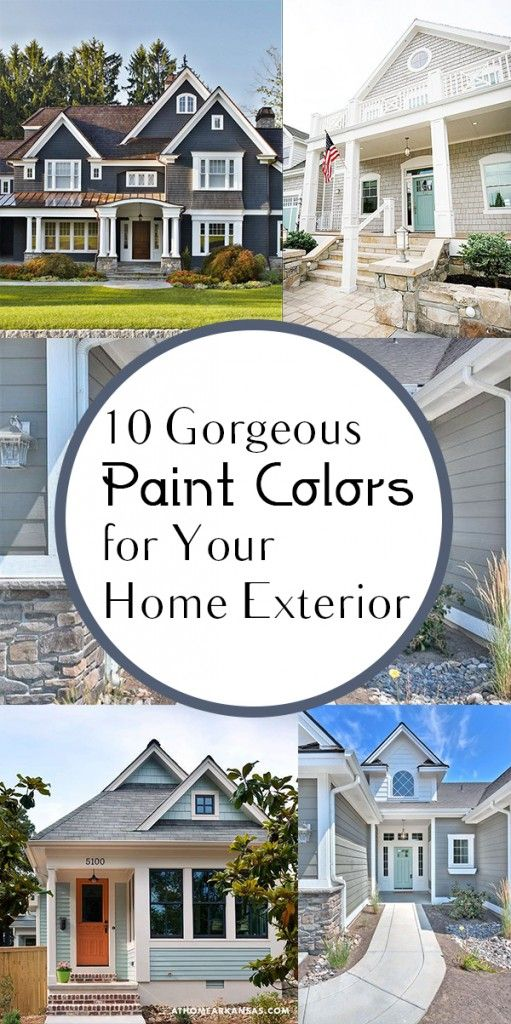 10 Gorgeous Paint Colors for Your Home Exterior. DIY, DIY home projects, home décor, home, dream home, DIY kitchen, DIY kitchen projects, weekend DIY projects.