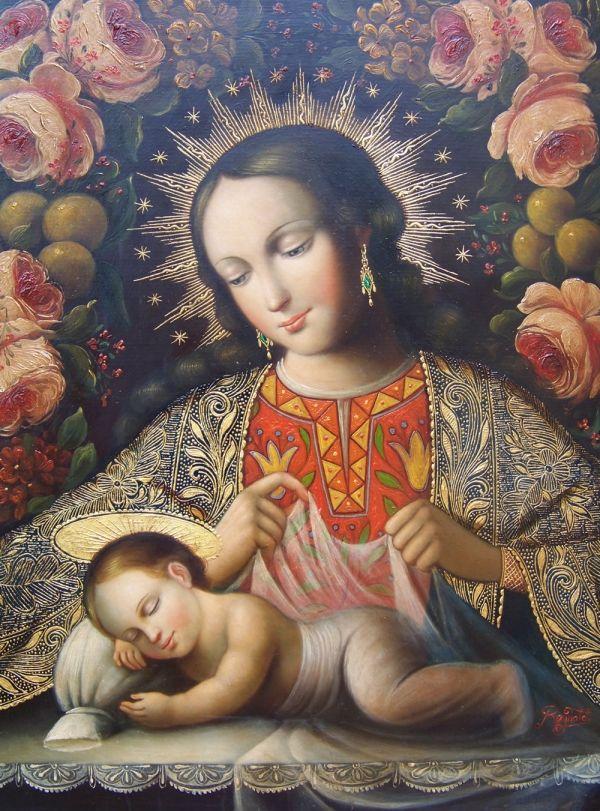 Virgen del Sueño, por Reinaldo Barreto.