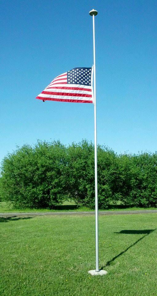extendable flag pole
