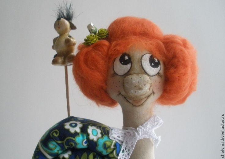 Купить игрушка текстильная ,улитка текстильная Златиславна - рыжий, улитка, улитка в подарок, улиточка