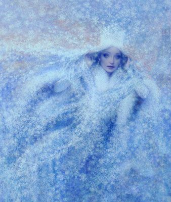 "Christian Birmingham Illustration, ""The Snow Queen"""