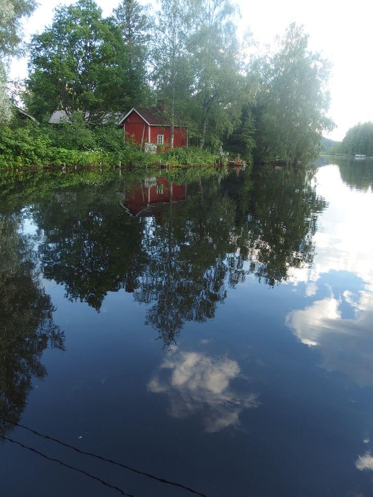 Little cottage in Hämeenkyrö, Finland.