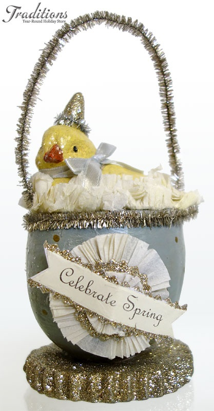 Vintage Easter Decorations Ornaments