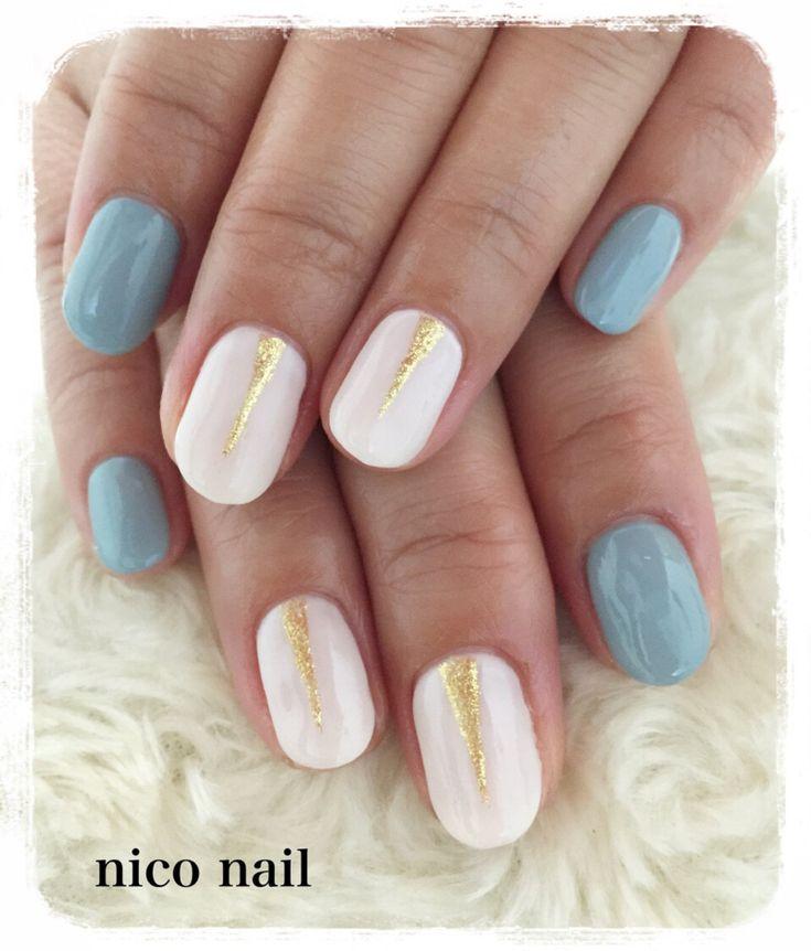 浜松市 中区 自宅ネイルサロン nico nail ニコネイル:スタイリッシュな春ネイル