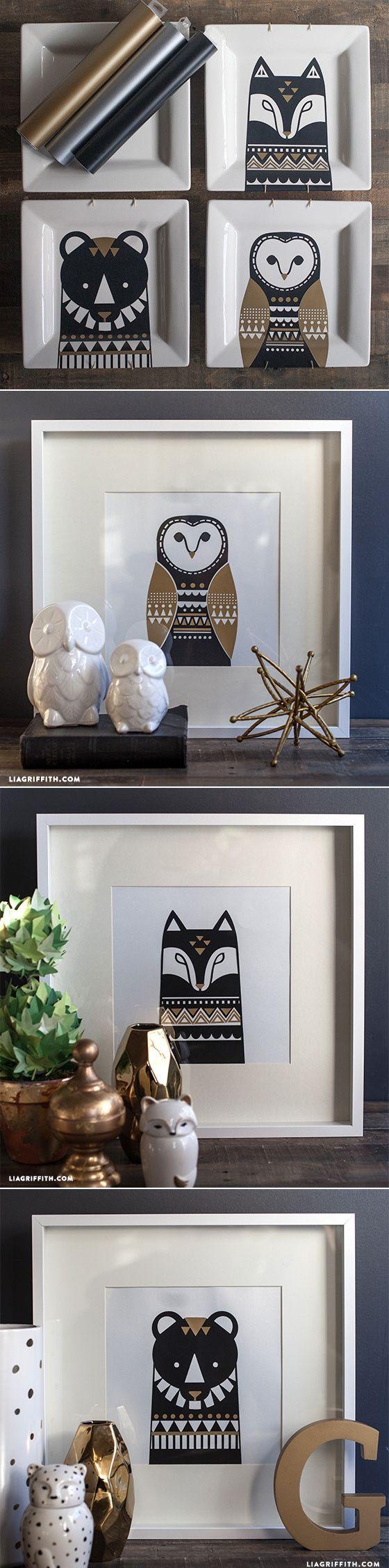 #Scandinavian Inspired Art at www.LiaGriffith.com