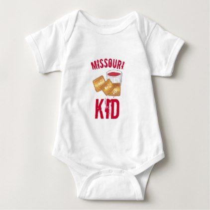 St louis missouri kid toasted fried ravioli food baby bodysuit st louis missouri kid toasted fried ravioli food baby bodysuit kids kid child gift idea diy personalize design kids stuff pinterest negle Image collections