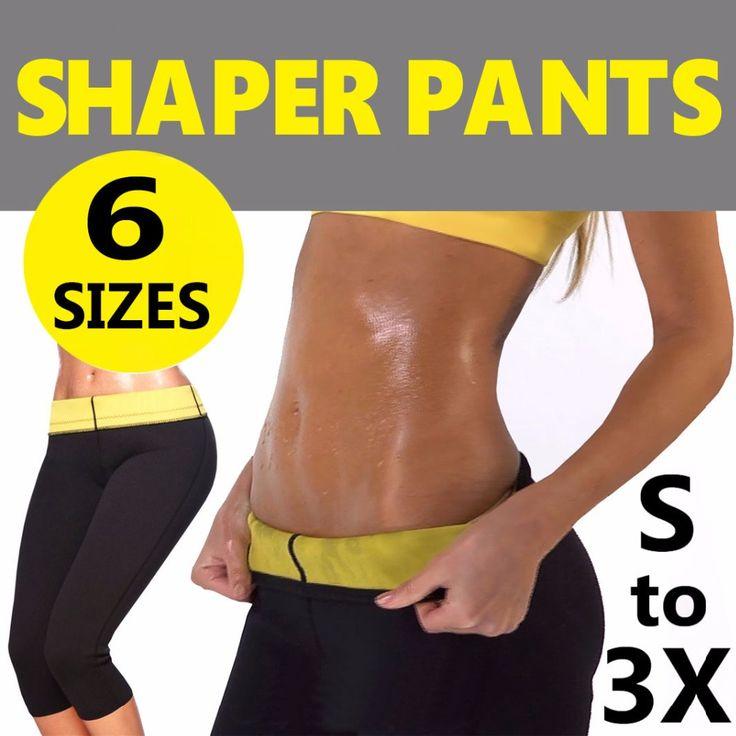 Super Stretch Super Women Sauna Slimming Weight Loss Pants hot shaper Leggings Capri Shorts for Women Neoprene Sports Yoga Pants