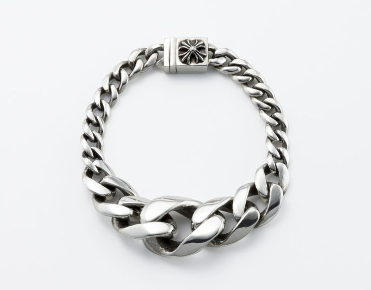 Chrome Hearts chain bracelet.