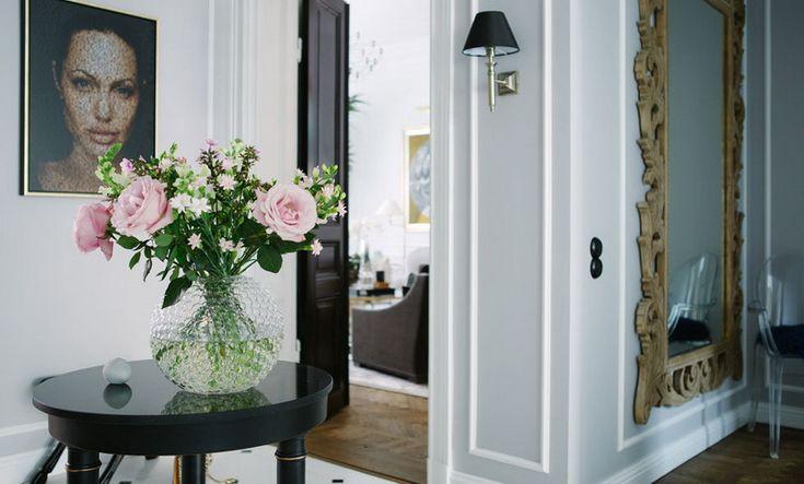Фото из статьи: Скандинавский стиль, вдохновлённый номерами роскошных отелей: светлая романтичная квартира из Швеции
