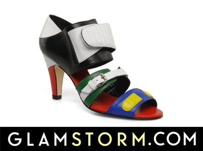To dopiero color blocking! Macie ochotę przymierzyć te niesamowite butki? / What a great color blocking! Would you like to try them on?     http://glamstorm.com/pl/ubrania/detale/id/2858