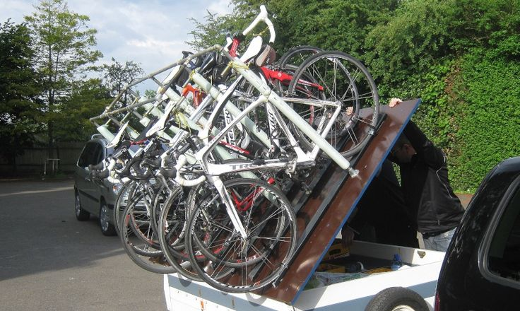 Projet de remorque porte-vélos.