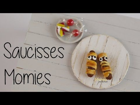 Saucisses Momies / Mummy Hot Dogs (Tuto Fimo/Polymer clay tutorial) - YouTube