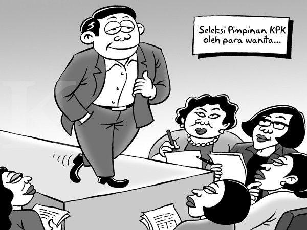 Kartun Benny, Kontan - Mei 2015: Tebar Pesona Pansel KPK