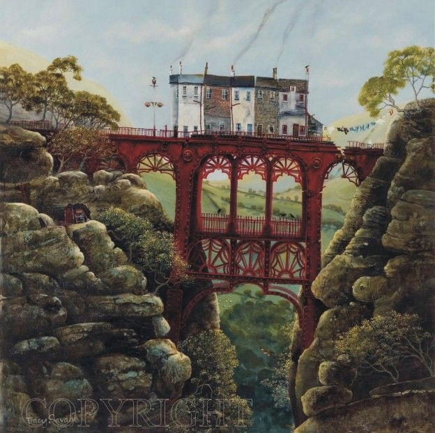 Tracy Savage Bridge Keepers Signed Limited Edition Print   Contemporary Art