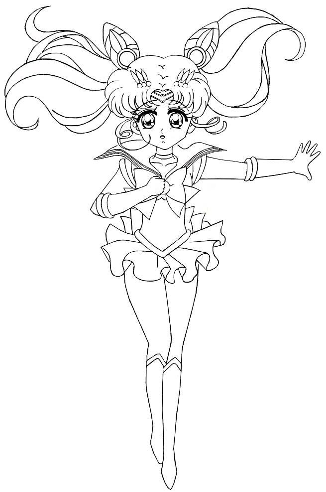 Pin By Beth Mack On Sailor Moon Coloring Pages Sailor