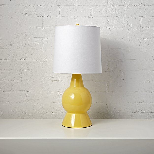 Beacon Yellow Table Lamp | The Land of Nod