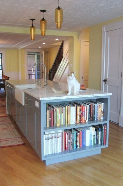 Image result for cookery book storage in kitchen