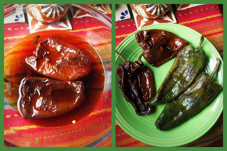 Chile Ancho and Poblano Rellenos | Hispanic Kitchen