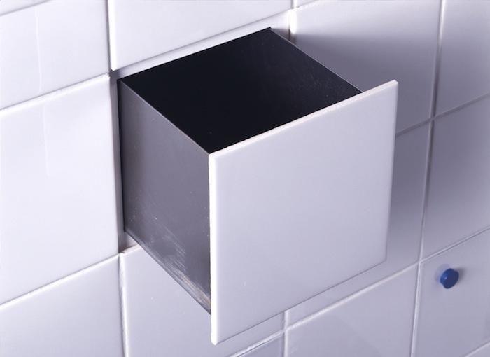 DTile Built-in Tile Drawer by Peter van der Jagt, Erik Jan Kwakkel, and Arnout Visser - Remodelista