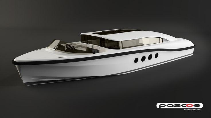 SL 8M LIMOUSINE - ThirtyC - Pascoe international #superyacht #tender #yacht #design #cutaway #illustration #technical www.thirtyc.com