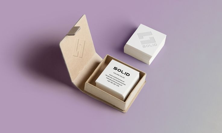 Solid - business cards - by Lotne Studio