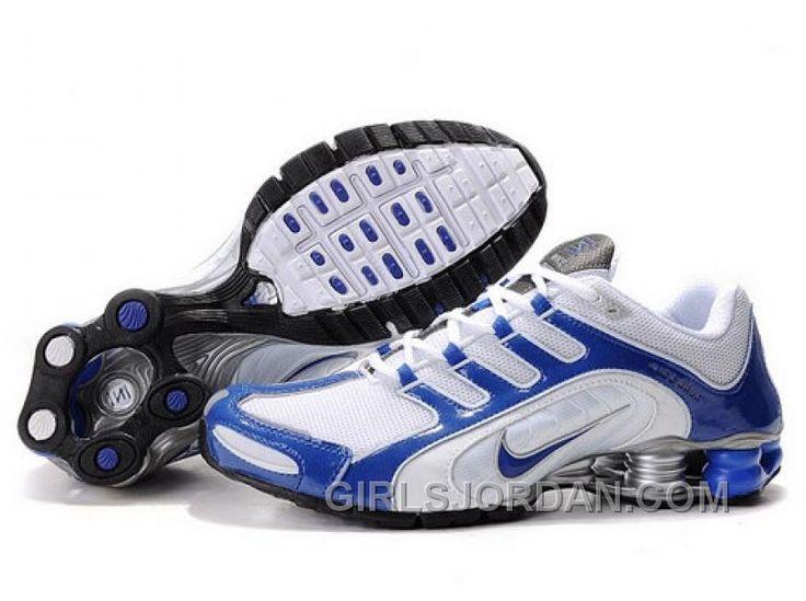 Discover the Men\u0027s Nike Shox Shoes White/Blue/Grey Super Deals group at  Jordany. Shop Men\u0027s Nike Shox Shoes White/Blue/Grey Super Deals black,  grey, ...