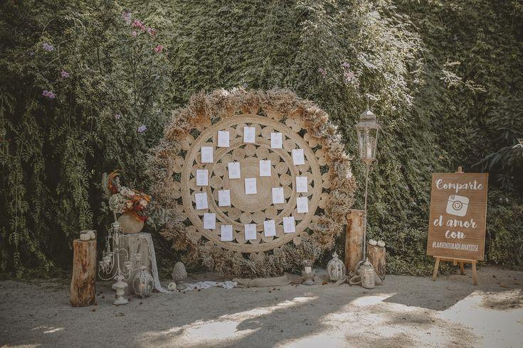 wedding decor, planner, organizacion eventos, inspiracion boda, inspiration, seating plan, jardines de abril | Photo by Óscar Guillén