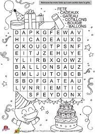 """Résultat de recherche d'images pour """"mots mélés pour enfants"""""""