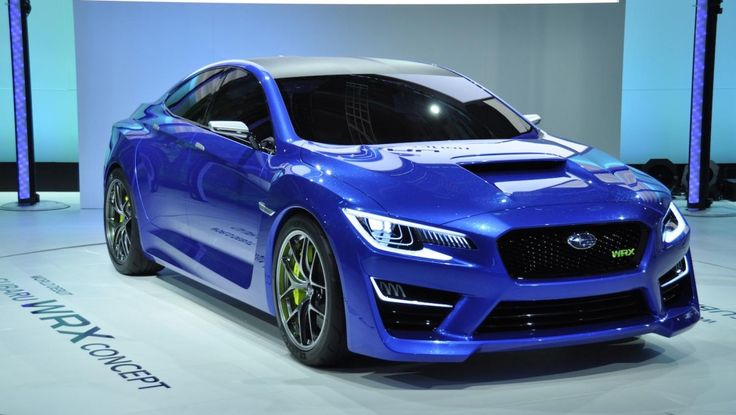 Cues from 2013 Subaru WRX Concept, will end up in production for 2016 !