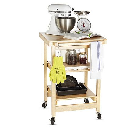 Folding Island The Entertainer Kitchen Trolley