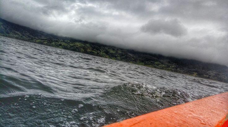 Laguna de la Cocha, lugar que se debe visitar.