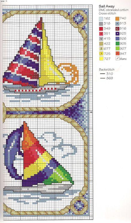 Gallery.ru / Фото #73 - Cross Stitch By the Sea - irislena