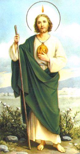 """St. Jude pendants    Patron Saint of lost causes, it may seem silly but he is one of first saints I am teaching my Kindergartener to pray to when he gets frustrated and feels """"hopelessly upest"""" about something. ;)"""