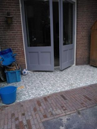 17 best images about tuin on pinterest gardens utrecht and patio - Mat tegels ...