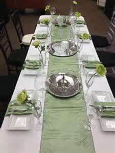 Sage Green Table Décor
