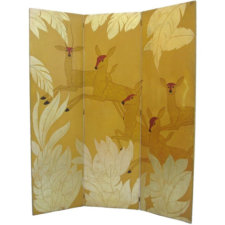 Deer Room Divider: 1920S, Rooms Divider
