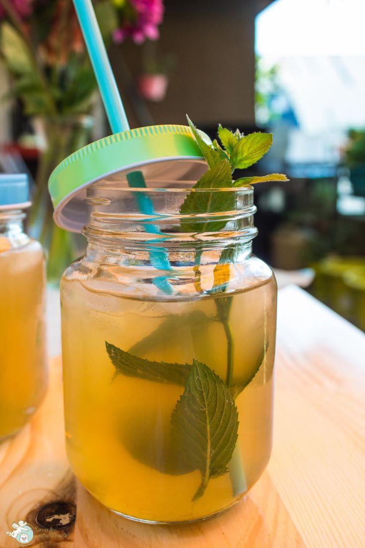 Limonade selbst machen, nicht so süße selbstgemachte Limonade, Apfelgetränke Sommer, Partygetränk antialkoholisch,