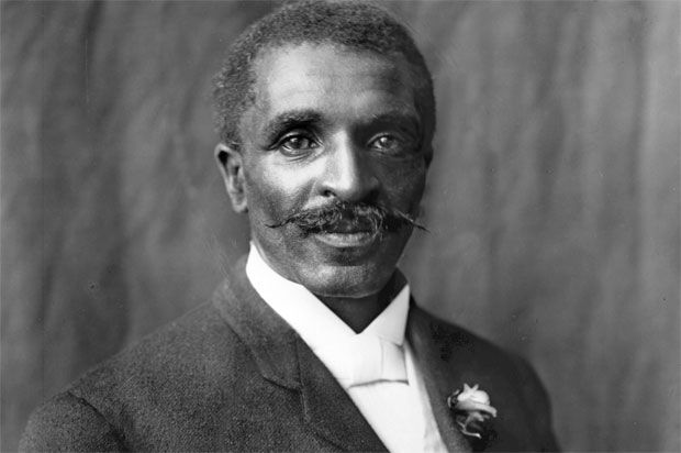 George Washington Carver, American scientist and inventor. He eventually became a famous advocate of peanut butter and he was, indeed, a peanut pioneer, but he didn't invent it. Evidence of peanut-based pastes can be found in South America as far back as 950 BC and modern peanut butter was first patented in 1884 by Marcellus Edson, and by John Harvey Kellogg who unveiled a process for creating peanut butter in 1895 .. long before Carver began his experiments in 1903.